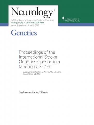 Neurology Genetics: 3 (1 Supplement 1)
