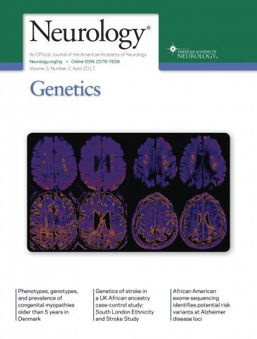 Neurology Genetics: 3 (2)