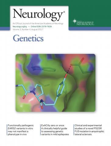 Neurology Genetics: 3 (4)