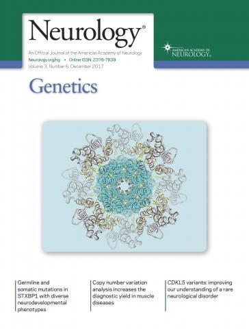 Neurology Genetics: 3 (6)