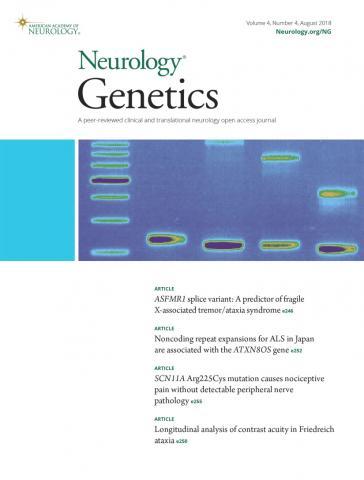 Neurology Genetics: 4 (4)