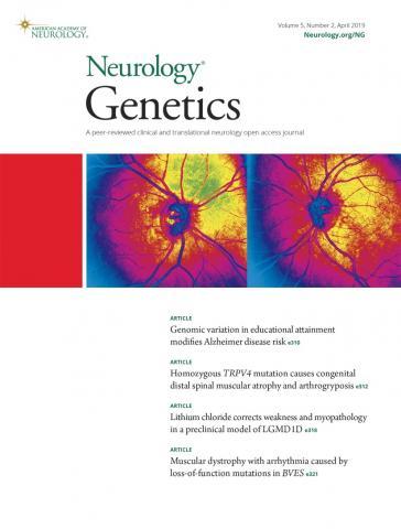 Neurology Genetics: 5 (2)