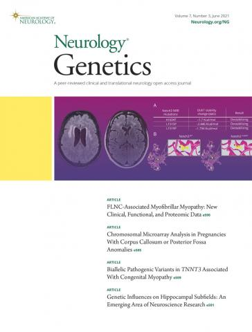 Neurology Genetics: 7 (3)