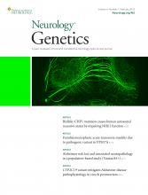 Neurology Genetics: 4 (1)
