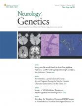 Neurology Genetics: 7 (5)